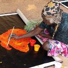 Aboriginal Artist Angelina Pwerle Ngale