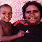 Aboriginal Artist Debbie Brown Napaltjarri