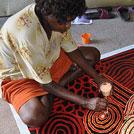 Aboriginal Artist Debra Young Nakamarra