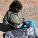 Aboriginal Artist Doreen Dickson Nakamarra