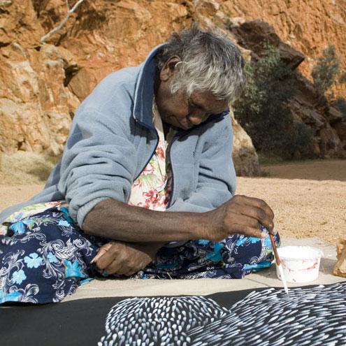 Aboriginal Artist Gloria Petyarre