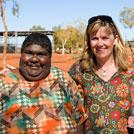 Aboriginal Artist Jeannie Mills Pwerle