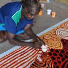 Aboriginal Artist Katherine Marshall Nakamarra