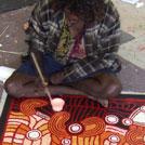 Aboriginal Artist Kim Butler Napurrula