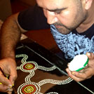 Aboriginal Artist Bundjalung Sean Delsignore