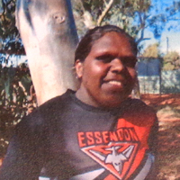 Aboriginal Artist Alicka Brown Napanangka