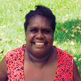 Aboriginal Artist Louise Numina Napanangka