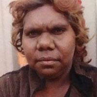 Aboriginal Artist Justinna Sims Napaljarri
