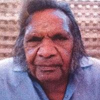 Aboriginal Artist Kevin Wirri Japaljarri