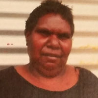 Aboriginal Artist Julie Gordon Napurrula