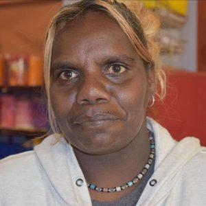 Aboriginal Artist Charlene Hargraves Nangala