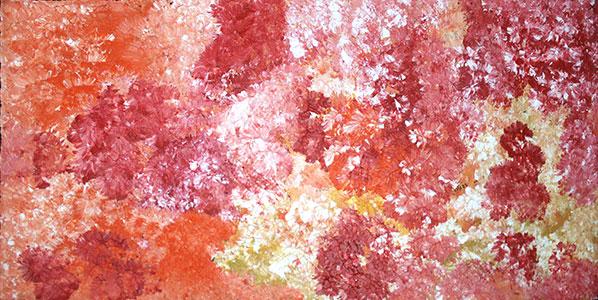 Product shot of Goanna Dreaming - © Ruth Spencer Nungarrayi