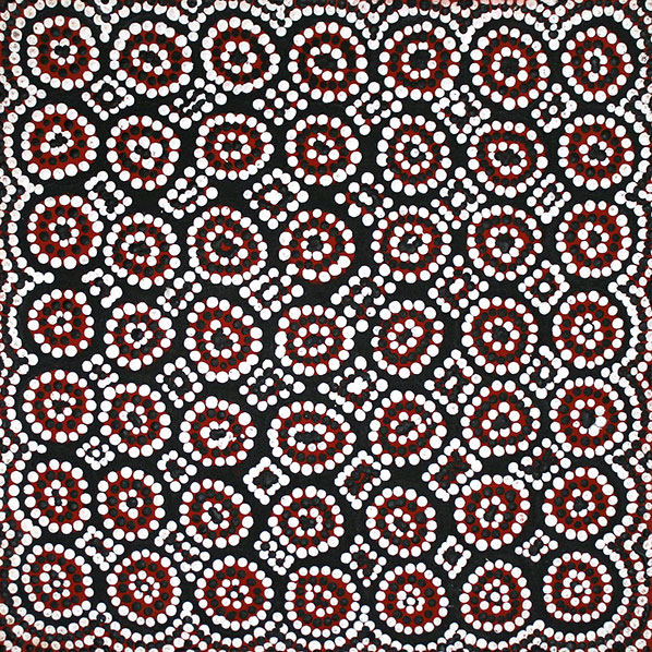 Product shot of Budgerigar Dreaming - © Valentine McDonald Napaljarri