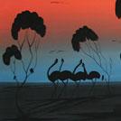 Bush Yam Seed Dreaming - © Delvine Pitjara