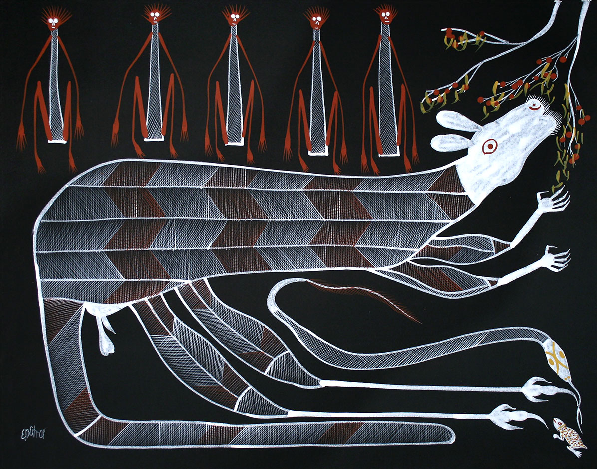 Product shot of Kangaroo Spirit - © Eddie Blitner Taiita
