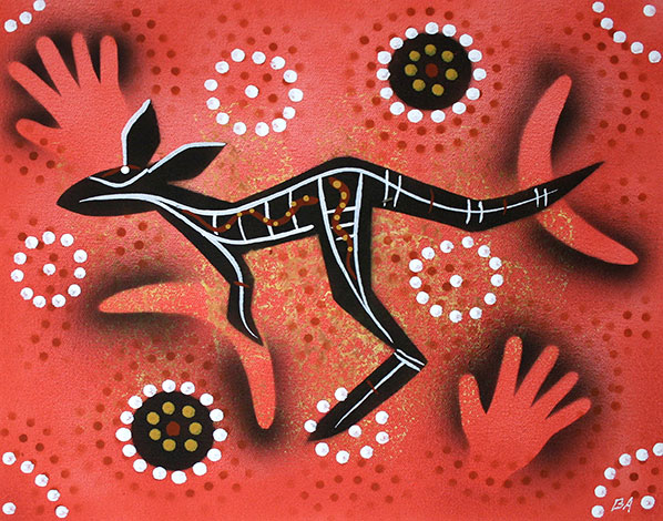 Product shot of Kangaroo Dreaming - © Ben Appleton