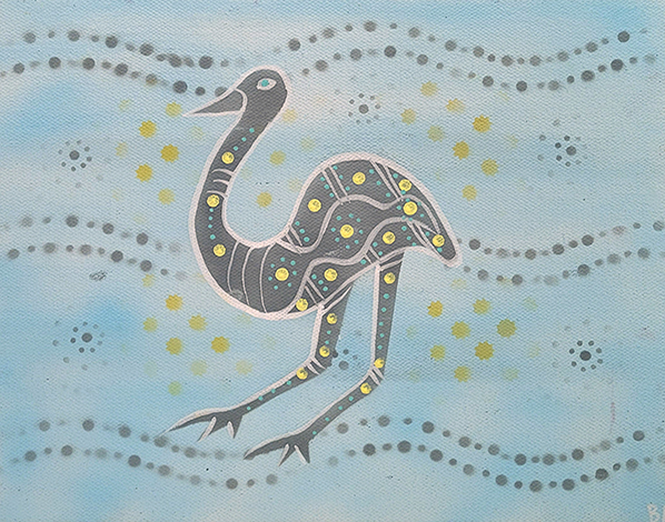 Product shot of Emu Dreaming - © Ben Appleton
