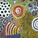 Bush Yam Dreaming - © Janet Golder Kngwarreye