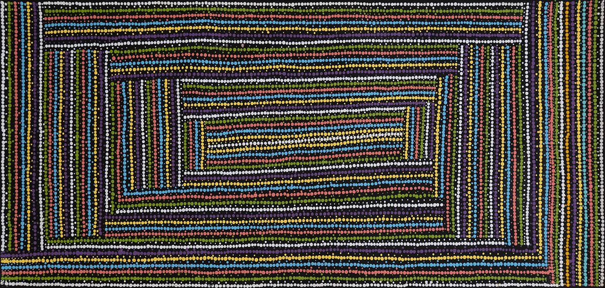 Product shot of Lappi Lappi Dreaming - © Cecilia Wilson Napurrurla