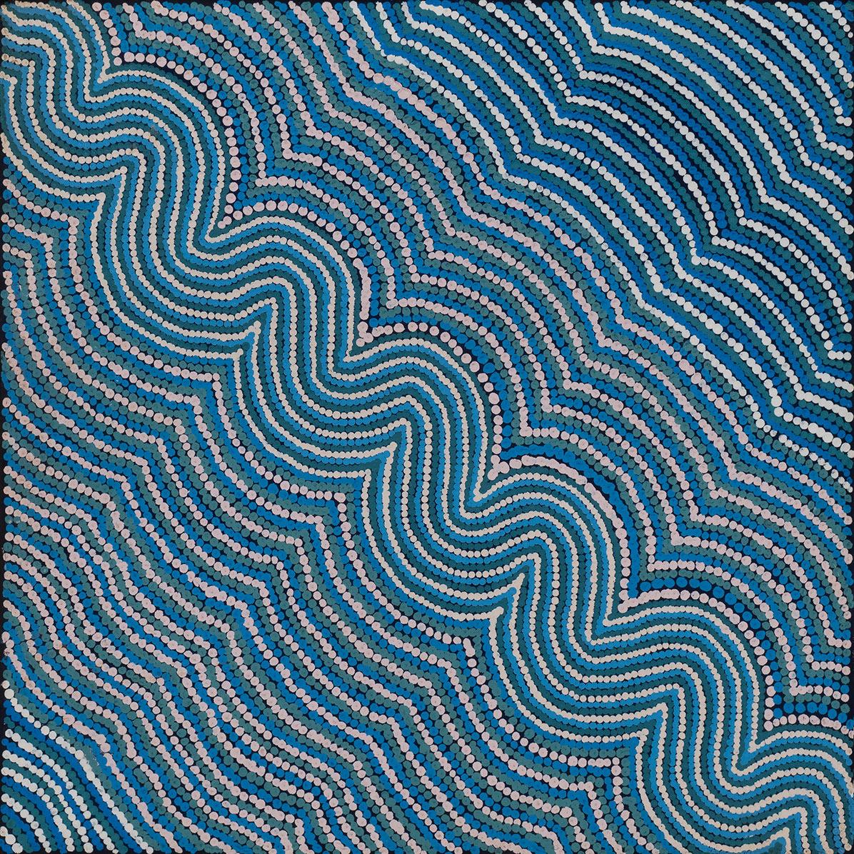 Product shot of Patterns Of The Landscape Around Nyirrpi - © Heather Nanala Nangala
