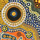 Native Fuchsia Dreaming - © Queenie Stewart Nungarrayi