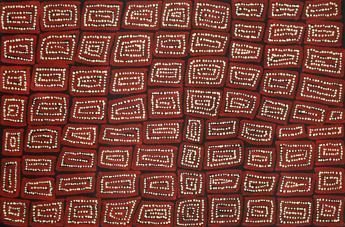 Product shot of Tingari - Men's Creation Dreaming - © Thomas Tjapaltjarri