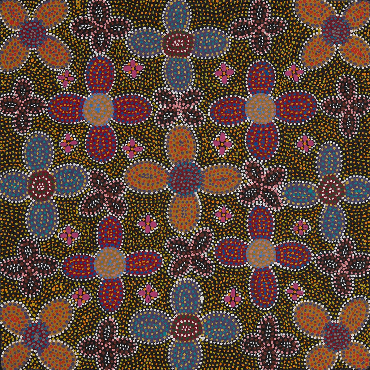 Product shot of Acacia Flower - © Lily Lion Kngwarreye