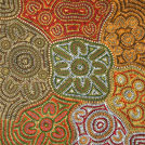 Desert Fringe-Rush Seed Dreaming - © Dorothy Dickson Napurrula