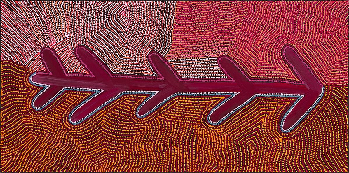 Product shot of Fire Country Dreaming - © Theo Hudson Nangala