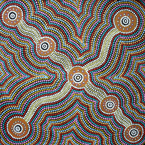 Product shot of Country Around Nyirrpi - © Katrina Jingo Napaljarri