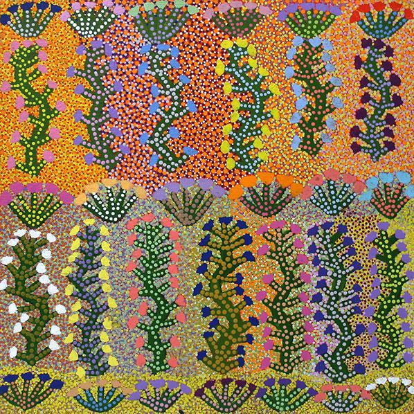 Product shot of Bush Medicine Plant - © Minnie Morton Ngwarraye