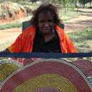 Aboriginal Artist Debra McDonald Nangala
