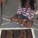 Aboriginal Artist Julie Robertson Nangala