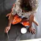 Aboriginal Artist Lily Kelly Napangardi