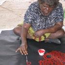 Aboriginal Artist Yinarupa Nangala