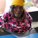 Aboriginal Artist Linda Syddick Napaltjarri