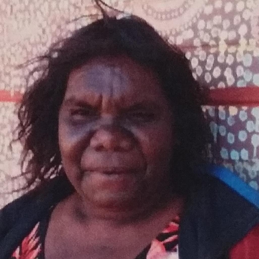 Aboriginal Artist Agnes Fry Nampijinpa