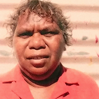 Aboriginal Artist Enid Gallagher Nangala
