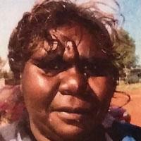 Aboriginal Artist Gloria Gill Napangardi