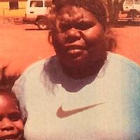Aboriginal Artist Priscilla Robertson Nangala