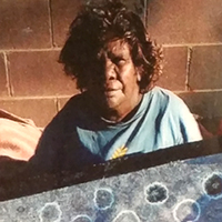 Aboriginal Artist Mary Ross Nabarrula