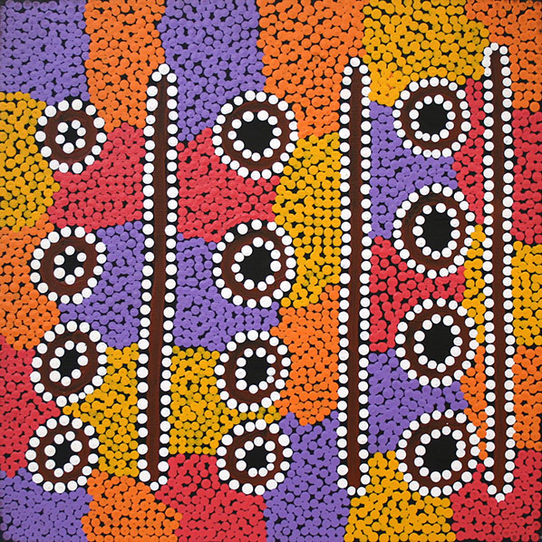 Aboriginal Artist Ronita Brown Nangala