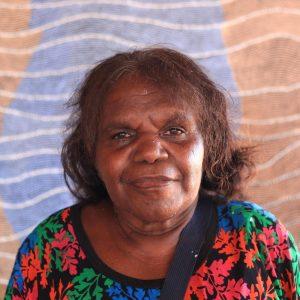 Aboriginal Artist Flora Brown Nakamarra