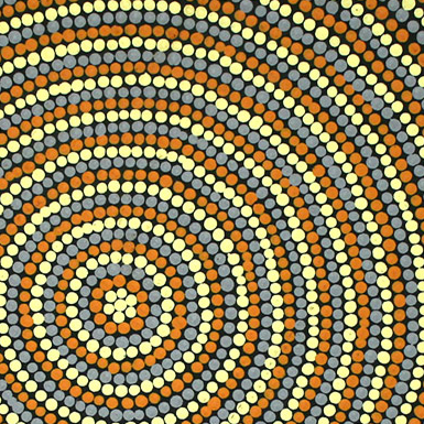 Aboriginal Artist Justina Forrest Napangardi