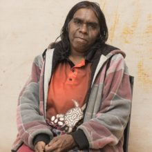 Aboriginal Artist Lucy Luck Pula