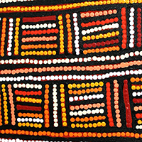 Aboriginal Artist Margaret Brown Nangala