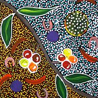 Aboriginal Artist Maureen Dixon Kemarre