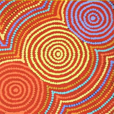Aboriginal Artist Maxie Pollard Jampijinpa
