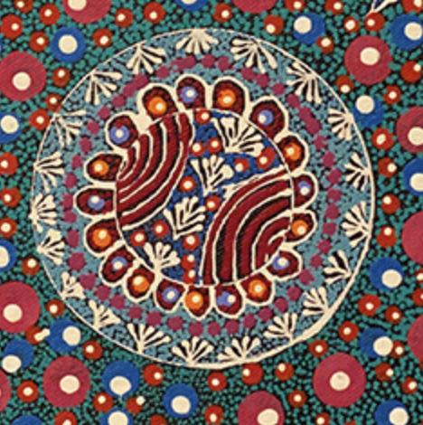 Aboriginal Artist Anna Tilmouth Pengarte