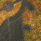 Bush Plum Dreaming - © Gracie Morton Pwerle